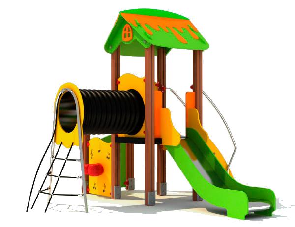 construcción parque infantil